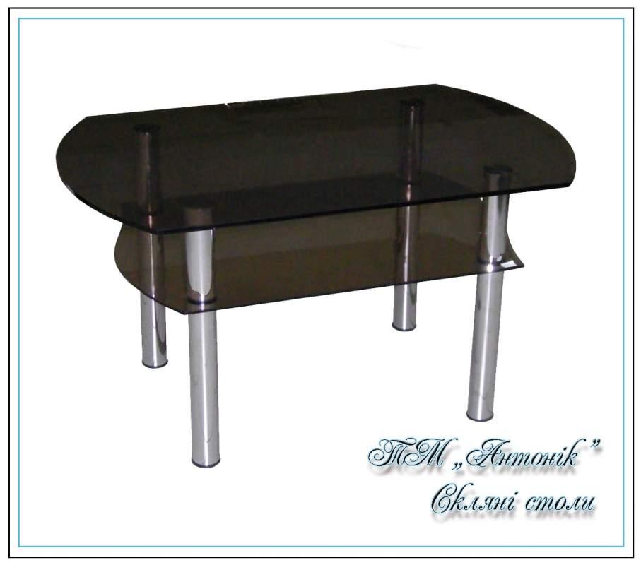 Купить Журнальный стол ст-105 тон на металлических опорах