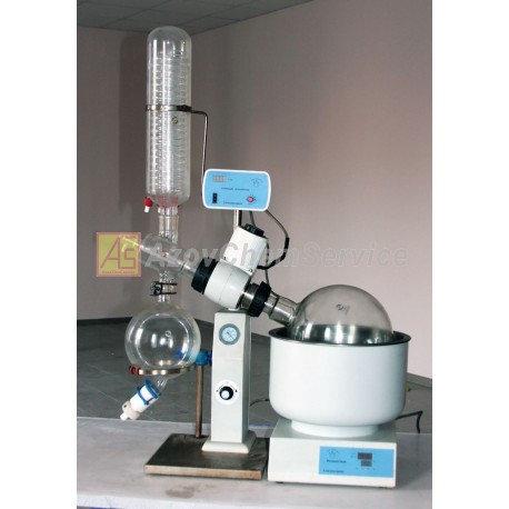 Купить Роторный (ротационный) испаритель re-5л для быстрого удаления жидкостей
