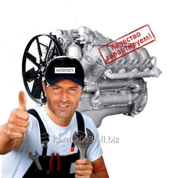 Ремонт двигателя МАЗ.
