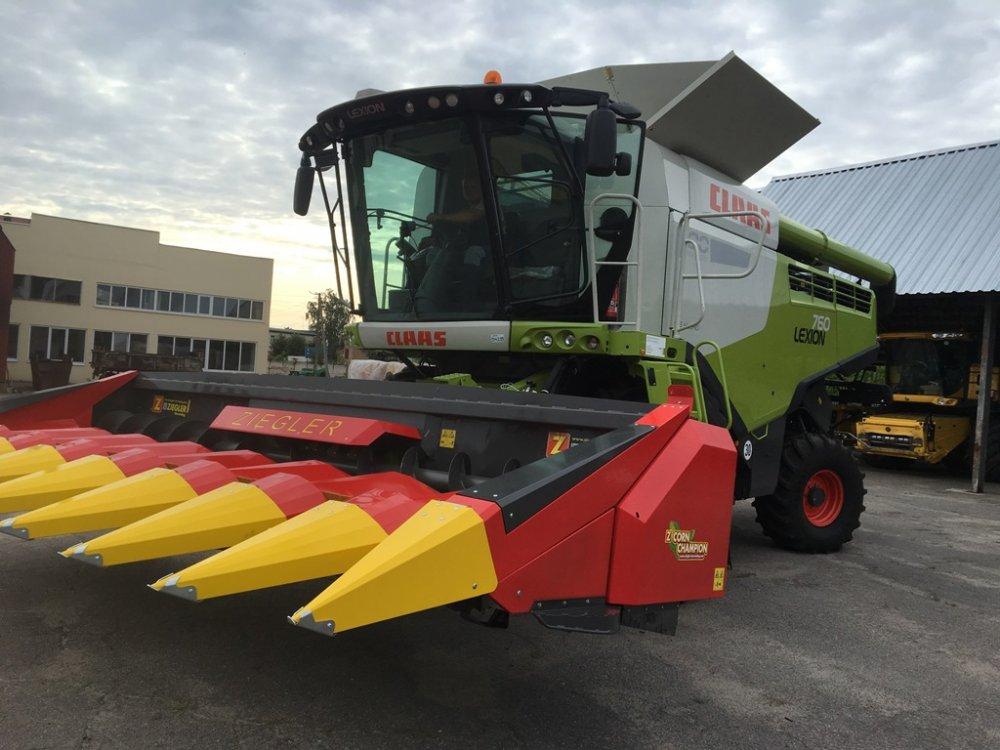 Buy Harvester of a kukuruzn of ZIEGLER CC8S