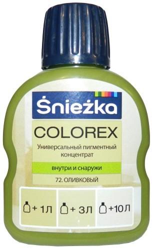 Купить Краситель Colorex 72 Оливковый 100мл