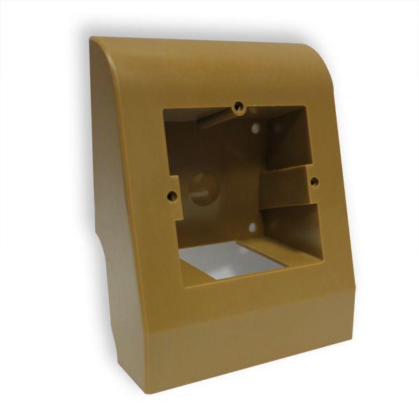 Купить Плинтусная коробка Коричневая