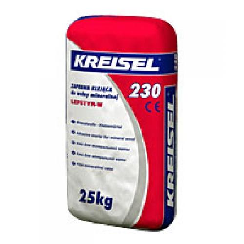 Купить Клей Kreisel 230 для минеральной ваты 25кг