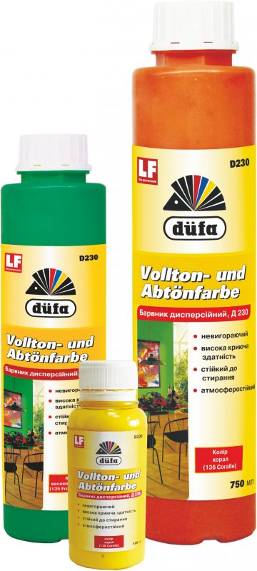 Купить Краситель Dufa 104 Хромово-желтый 100мл