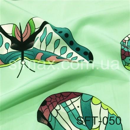 Купить Ткань вискоза Soft принт, вискозная ткань, вискоза трикотаж, Код: SFT-050