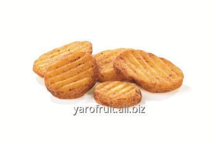 Волнистые картофельные ломтики  по-домашнему со специями SLICES SPICY