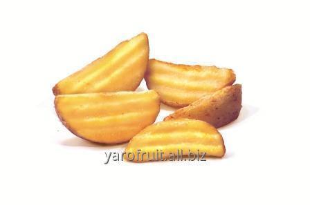 Волнистые картофельные дольки с кожурой CRINKLE WEDGES SKIN-ON