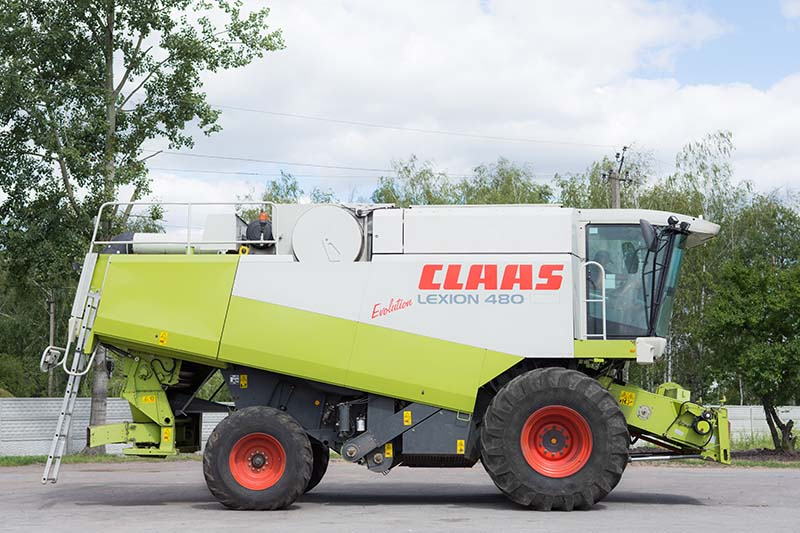 Купить Комбайн зерноуборочный Claas Lexion 480 evo