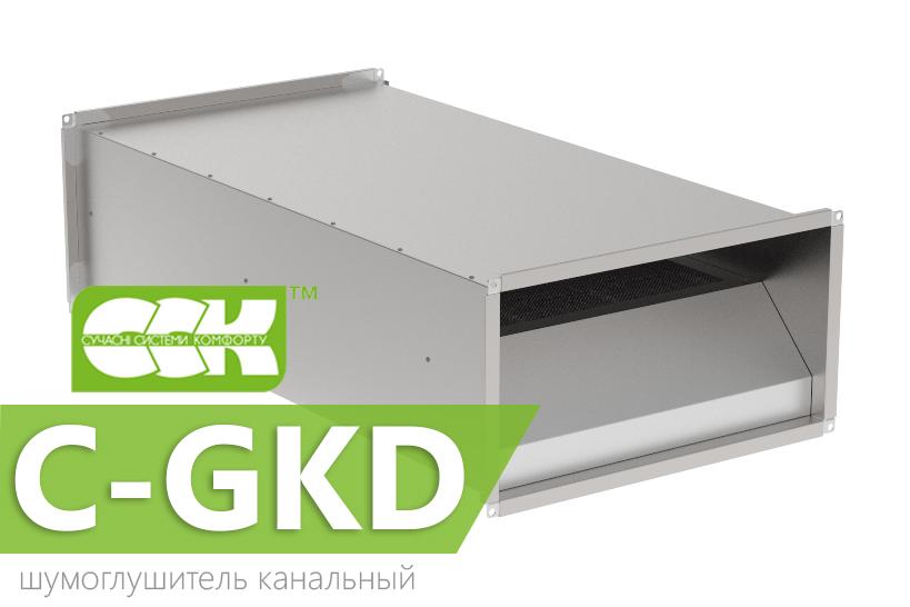 Купить Шумоглушитель канальный C-GKD-90-50