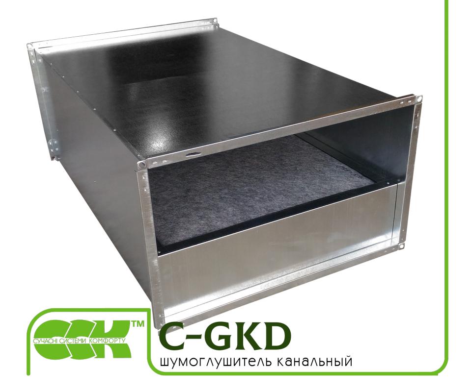 C-GKD-100-50 шумоглушитель канальный