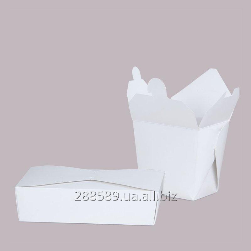 Купить Картонная пищевая упаковка, коробочки для еды на вынос