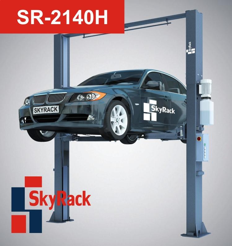 Купить Двухстоечный электрогидравлический подъемник SkyRack SR-2140H Professional