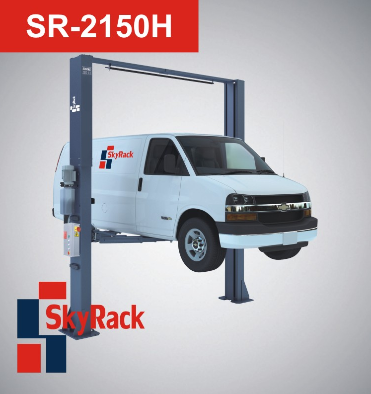 Купить Двухстоечный электрогидравлический подъемник SkyRack SR-2150H Professional