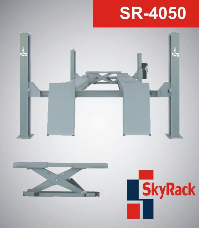 Купить Четырехстоечный электрогидравлический подъемник SkyRack SR-4050 Basic