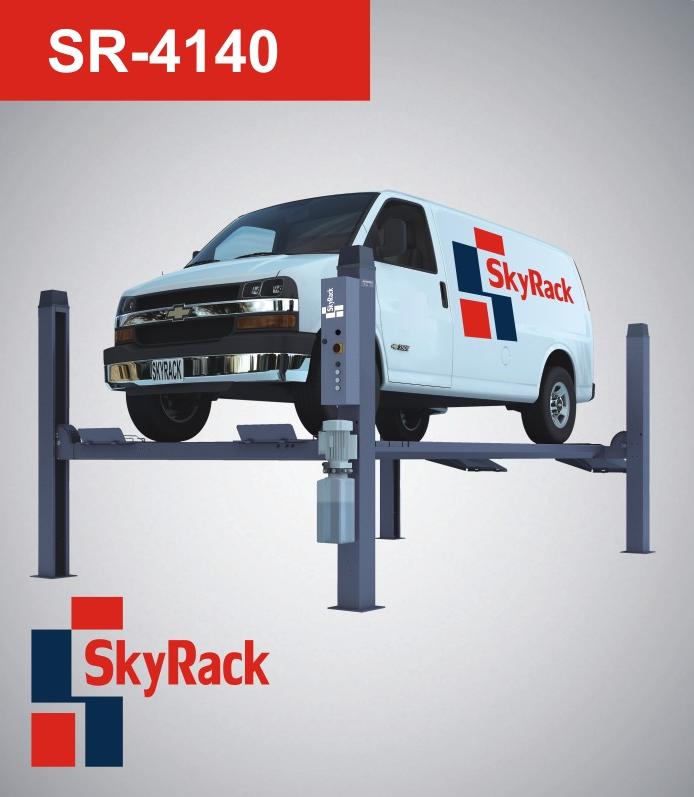 Купить Четырехстоечный электрогидравлический подъемник SkyRack SR-4140 Professional