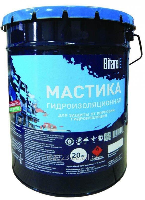 Купить Мастика битумно-полимерная гидроизоляционная холодная Bitarel МБПГХ