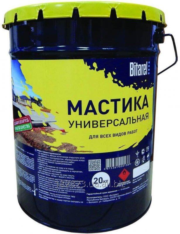Купить Мастика битумно-полимерная холодная Bitarel МБПХ СТБ 1262-2001 (универсальная)