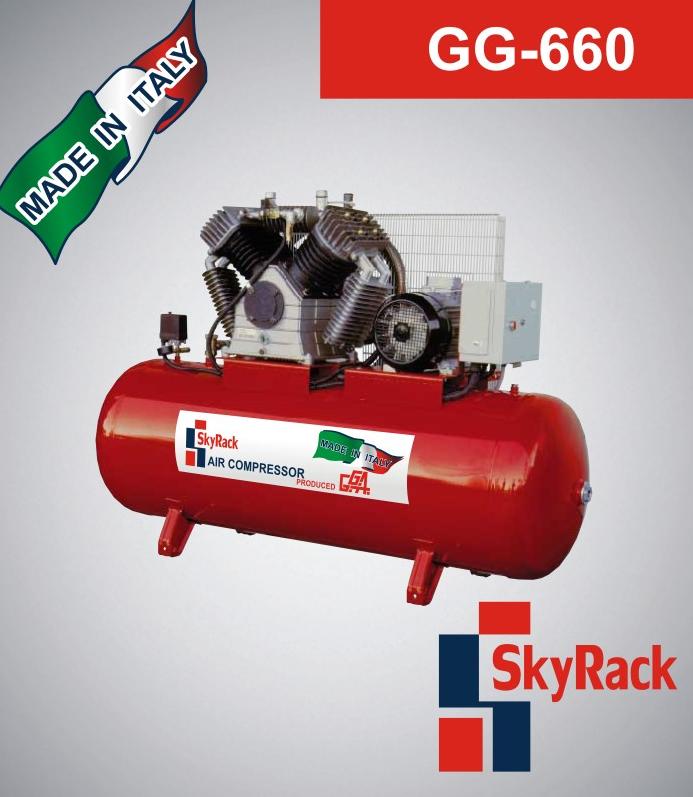 Купить Компрессор поршневой SkyRack GG-660