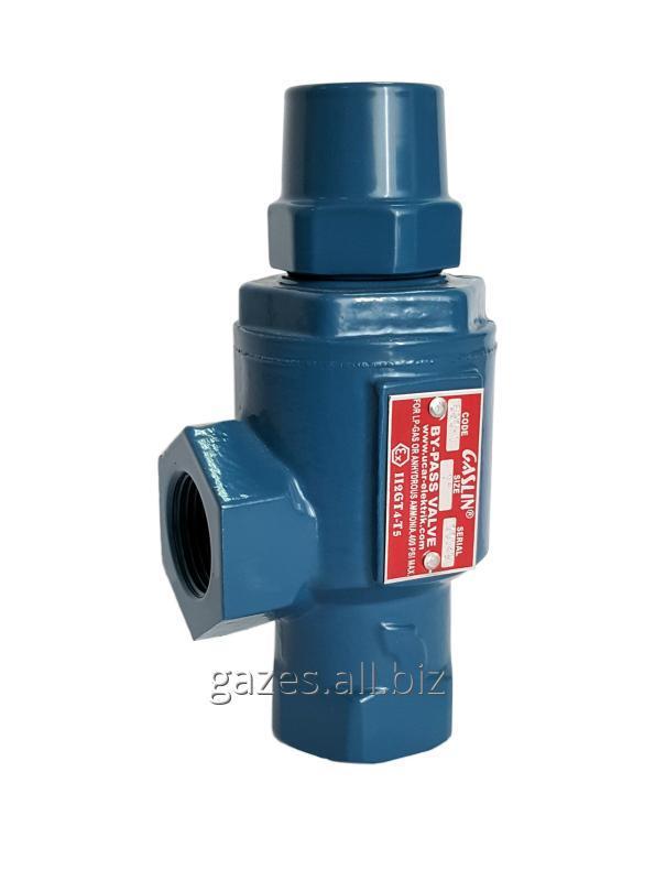 Клапан байпас Gaslin GSL 620-1 дифференциальный перепускной для газового модуля СУГ пропан-бутана АГЗС АГЗП заправки (blackmer BV-1)