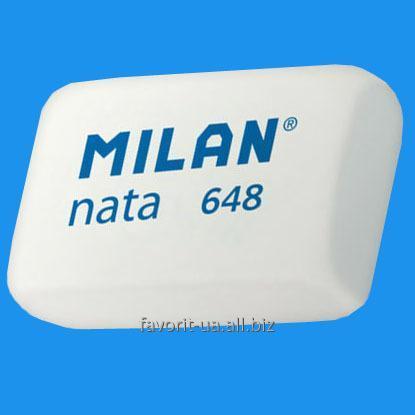 "Купить Ластик ""MILAN Nata 648"" белый"