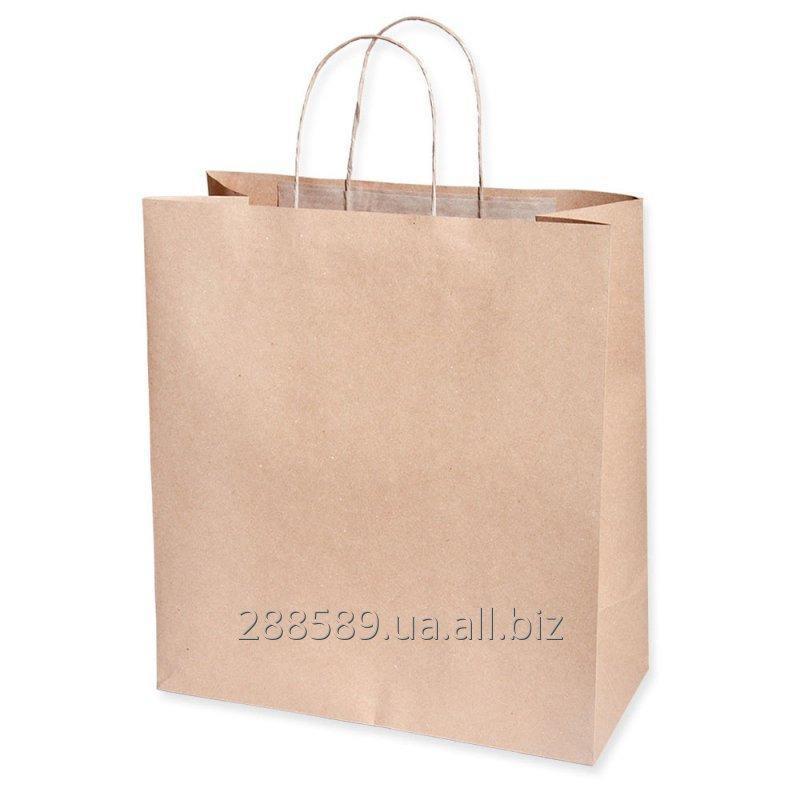 Купить Бумажные пакеты под нанесение
