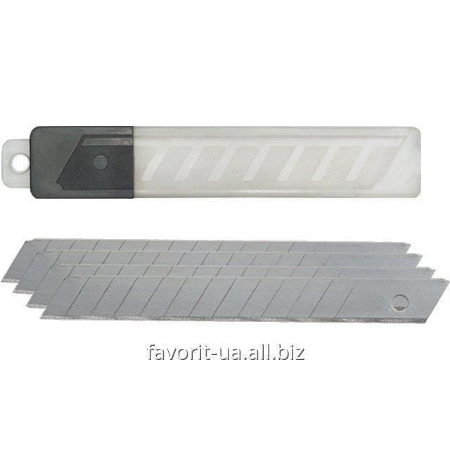 Купить Запасные лезвия для канцелярских ножей 18 мм Delta 6523