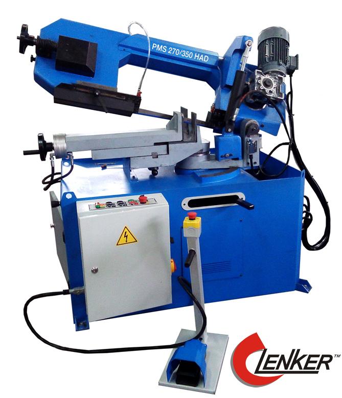 Ленточная пила по металлу - станок Lenker HDM 270/350 HAD отрезной станок для резки металла по резке металла станки по металлу