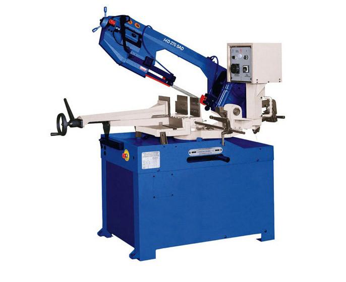 Ручной ленточнопильный станок HDM 270 SAD ручные станки для резки металла станки ручные металлорежущие