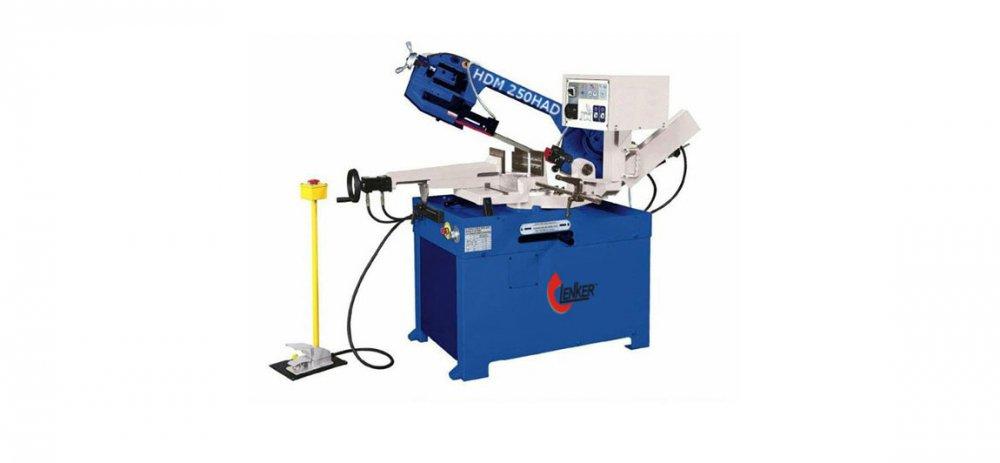 Полуавтоматический ленточнопильный станок HDM 250 HAD отрезной станок для резки металла по резке металла станки по металлу
