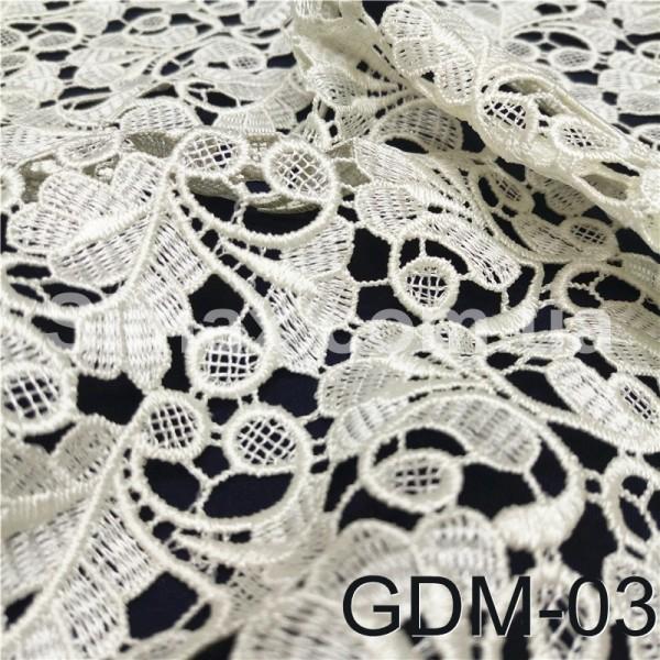 Купить Макраме-гипюр белый Модель:GDM-03