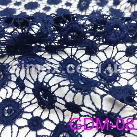 Купить Макраме-гипюр т.синий Модель:GDM-08