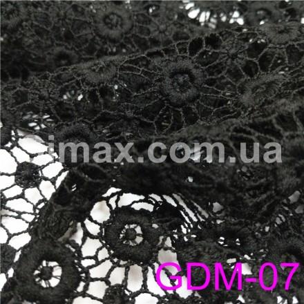 Купить Макраме-гипюр черный Модель:GDM-07