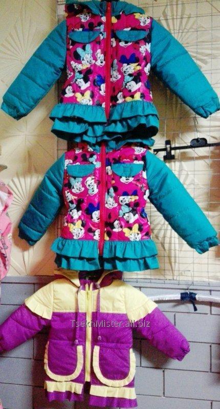 Детские жилетки, куртки