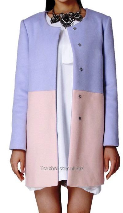 Женское пальто-платье