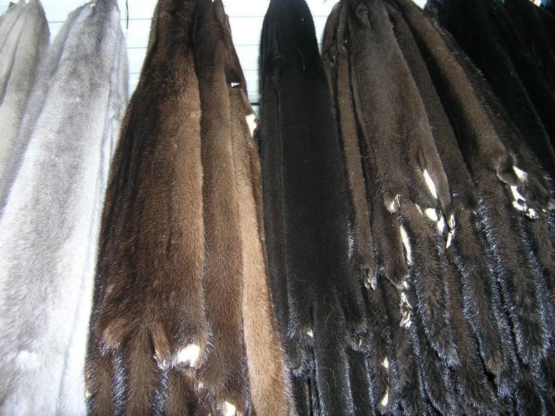 Купить Мех натуральный Норка