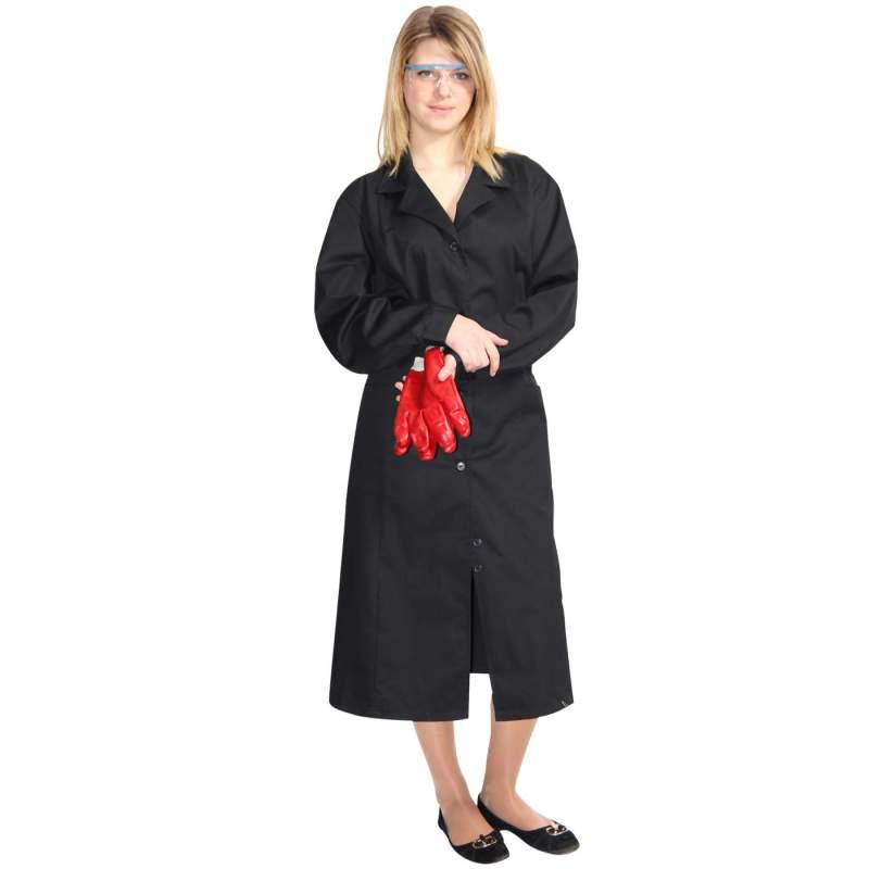 Купить Халат рабочий женский с кантом