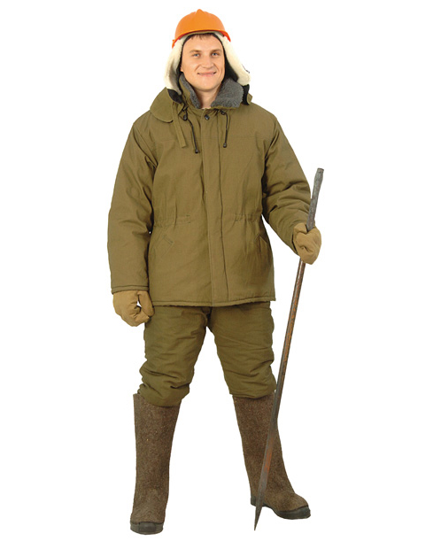 Купить Куртка рабочая утепленная
