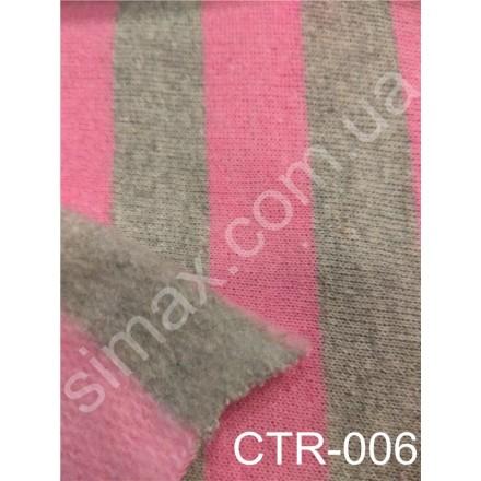 Купить Двунитка натуральная с начесом Принт Модель:СТR-006