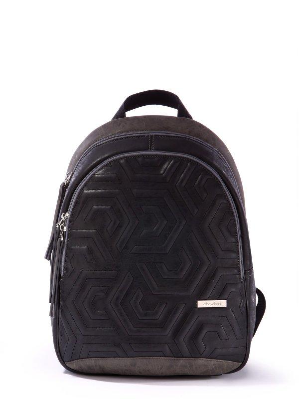 Купить Рюкзак 171603 черно-серый