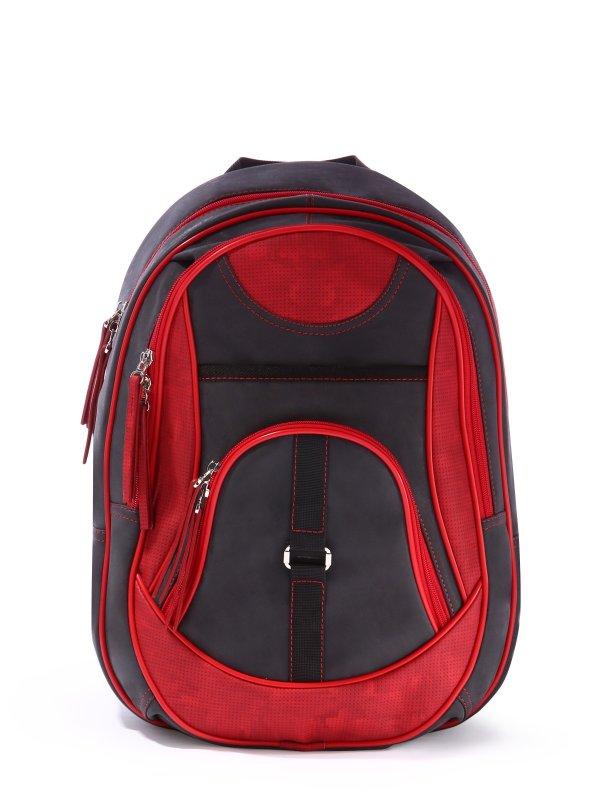 Рюкзак 171611 черно-красный