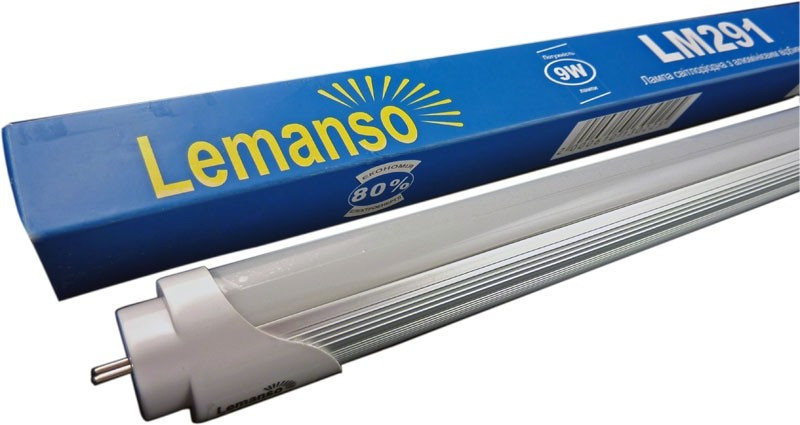 Купить Лампа LED светодиодная T8 9W G13 6500К 850LM Lemanso