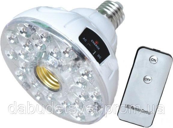 Купить Аккумуляторный светильни.с пультом в патрон E27 300Lm Lemanso LMB19