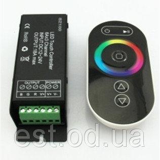 Купить Контроллер RGB 288Вт 24А с сенсорным радио пультом Д/У ProfiLED
