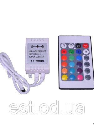 Купить Контроллер RGB 72Вт 6А с ИК пультом Д/У BIOM