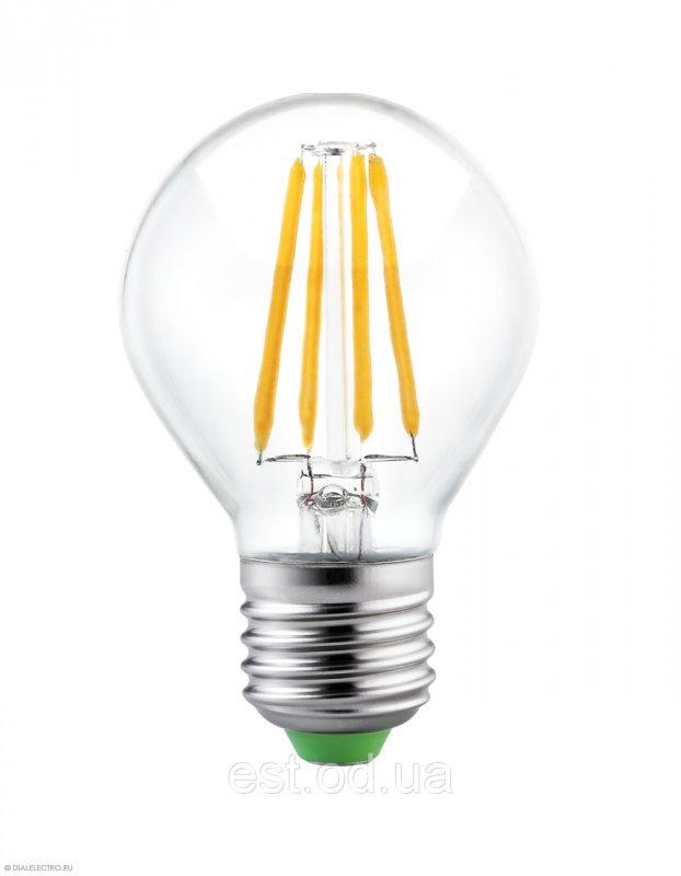Купить Лампа светодиодная филамент Led G45 2W Е27 4000 LEDEX