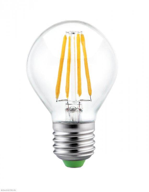 Купить Лампа светодиодная филамент Led G45 4W Е27 3000 BIOM