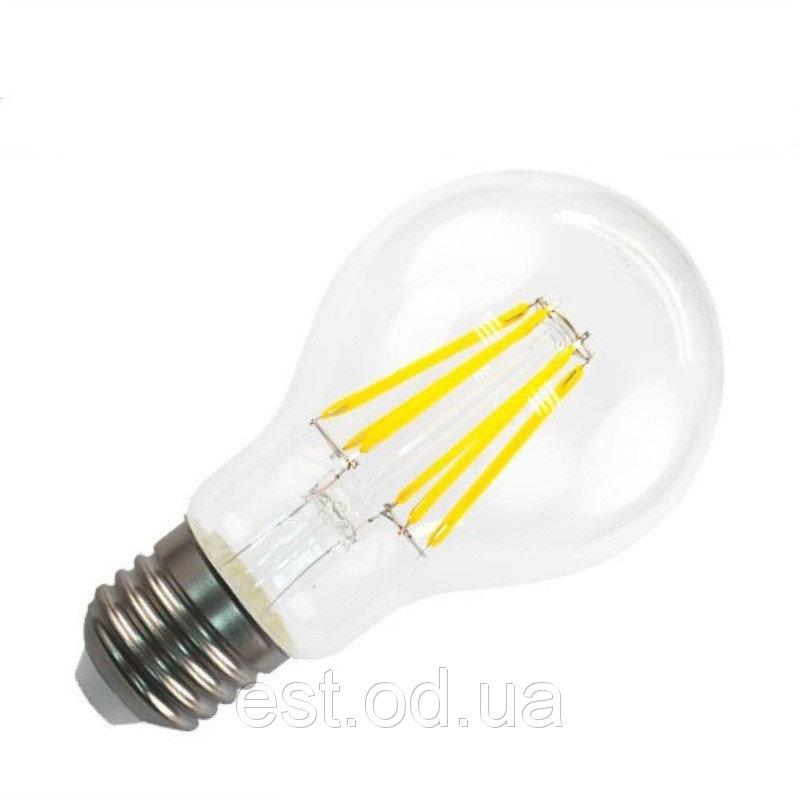 Купить Лампа светодиодная филамент Led А60 6W Е27 6000 Lemanso