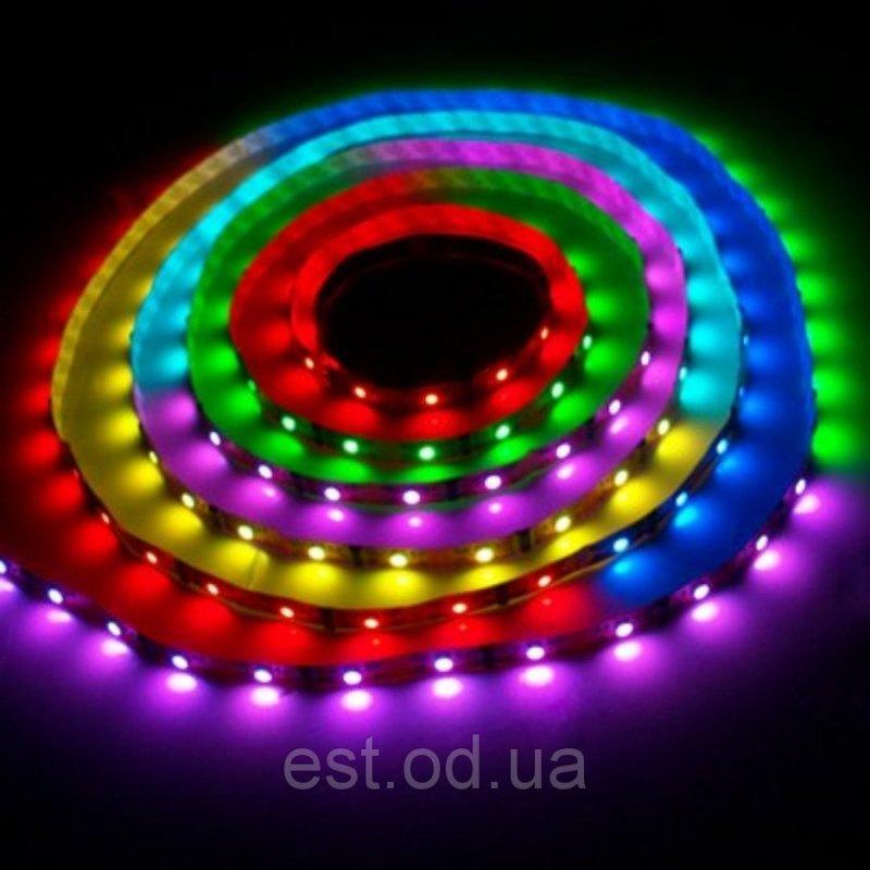 Купить Лента светодиодная SMD5050 60LED 14,4W RGB влагозащищенная