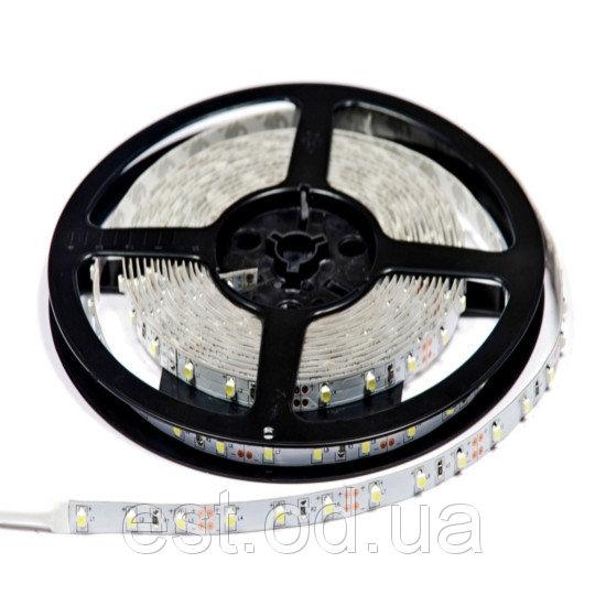 Купить Лента светодиодная SMD5050 60LEDх12LM 14,4W 4000К влагозащищенная