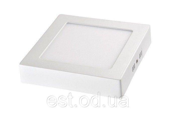Купить Накладной светодиодный светильник квадратный 24W 4500K Lemanso